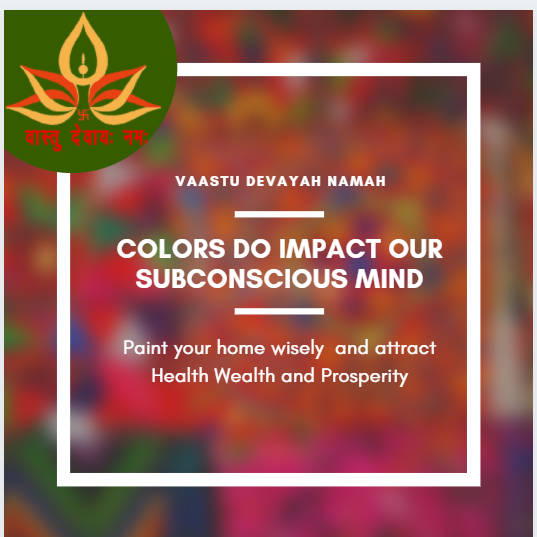 Colours as per Vastushastra
